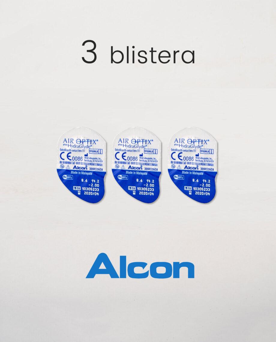 alcon air optics plus hydraglyde blister