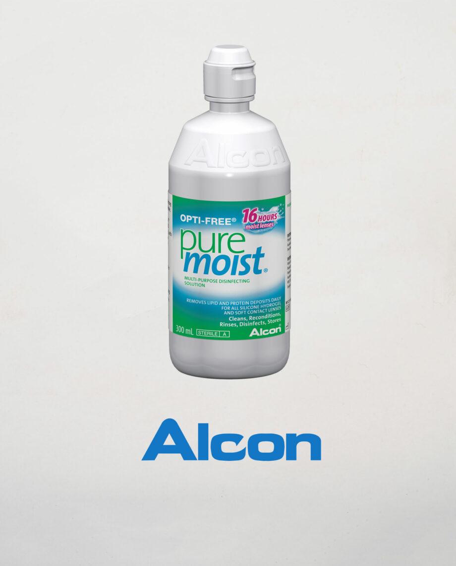 OPTI FREE pure moist bocica