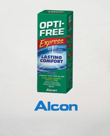 alcon opti free express