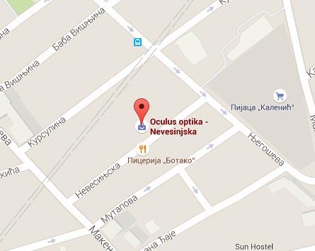 kalenic pijaca beograd mapa Nevesinjska 17 | Oculus Optika kalenic pijaca beograd mapa